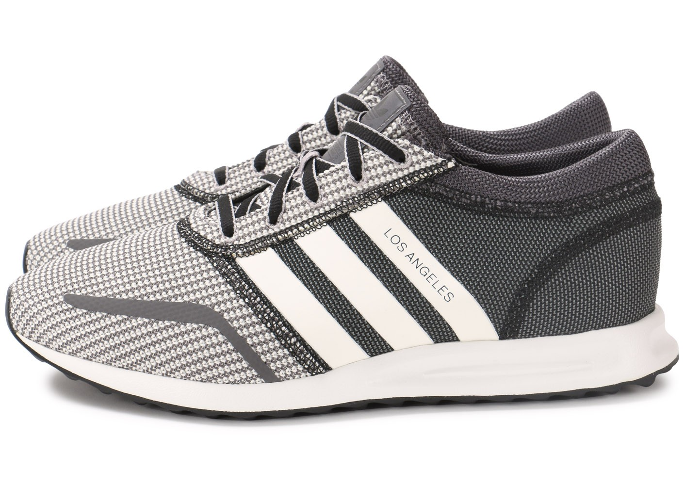 adidas Los Angeles grise - Chaussures Baskets homme - Chausport