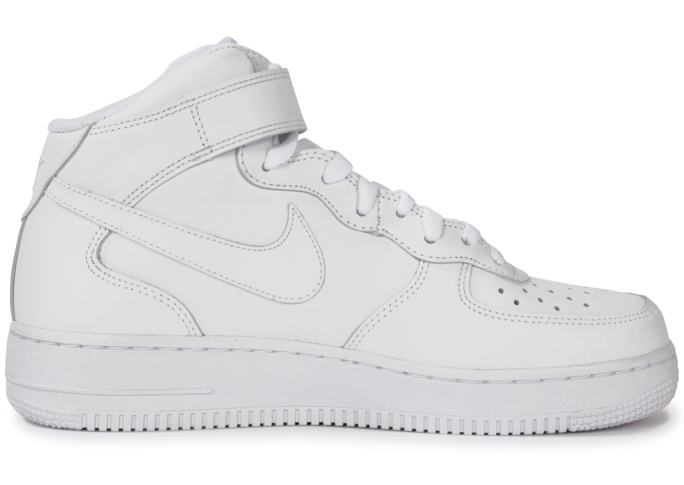 Nike Air Force 1 Mid 07 Blanche - Chaussures Baskets homme - Chausport