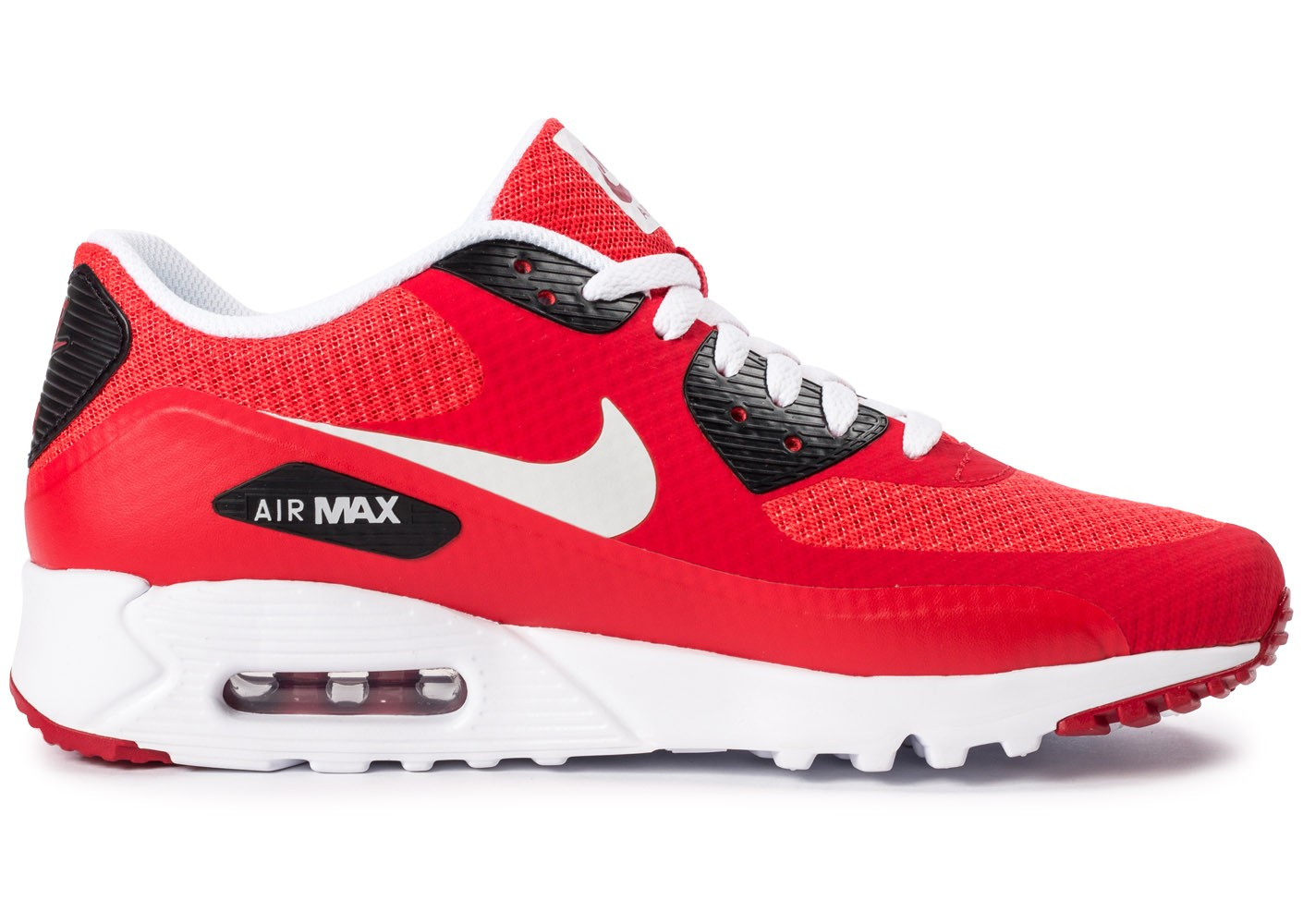 Nike Air Max 90 Ultra Essential rouge - Chaussures Baskets homme ...