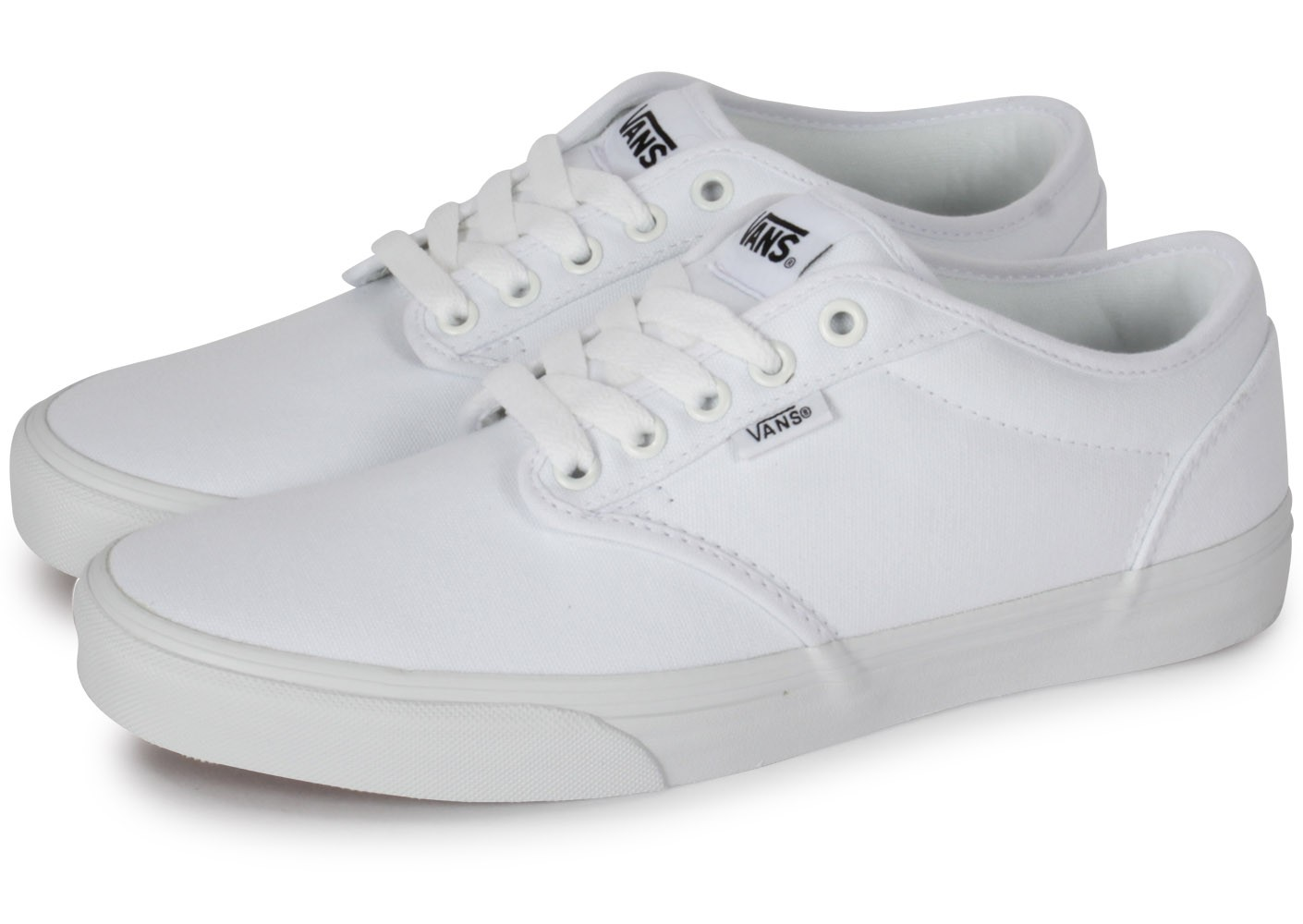 Vans Atwood Toile Blanche - Chaussures Baskets homme - Chausport