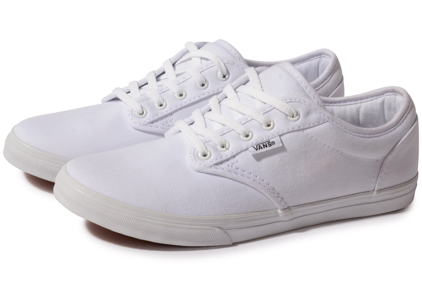 Vans Atwood blanche - Chaussures Chaussures - Chausport