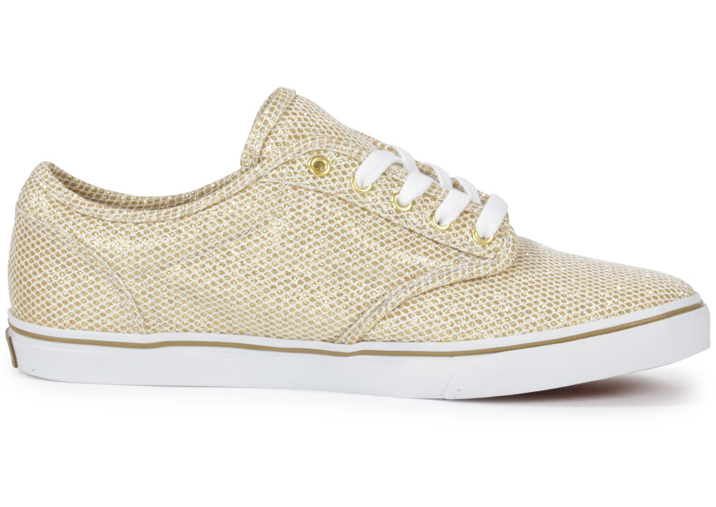 Vans Atwood Paillette Or - Chaussures Chaussures - Chausport