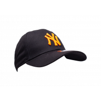 Casquette 9/40 League Essentials noire et orange