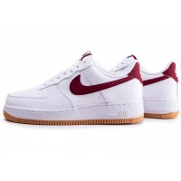 Air Force 1 '07 blanche et rouge