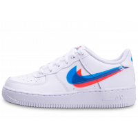 Air Force 1 LV8 Low 3D blanche junior