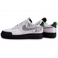 Air Force 1 Under Construction noir blanc gris