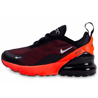 Air Max 270 noir bright Crimson enfant