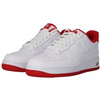 Air Force 1'07 blanc rouge