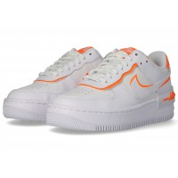 nike air force 1 orange fluo