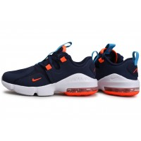 Air Max Infinity bleu marine orange Junior