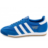 low priced 83622 8185a adidas Dragon OG bleue - Chaussures Baskets homme - Chausport