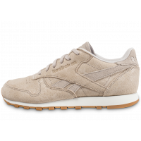 Reebok Classic Leather Clean Exotics beige Chaussures