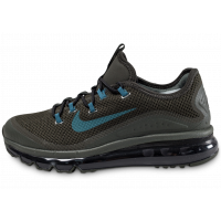 Nike Air Max More kaki Chaussures Baskets homme Chausport