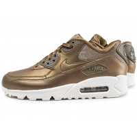 acheter populaire 54342 f6000 Nike Air Max 90 or - Chaussures Baskets femme - Chausport