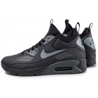 Nike Air Max 90 Ultra Mid Winter noire Chaussures Baskets