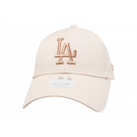 Casquette 9Forty Essential rose et or