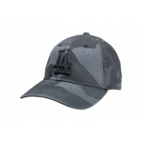 Casquette 9/40 Washed camouflage noire
