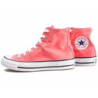 Chuck Taylor All Star High orange femme