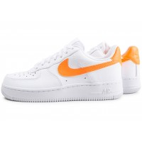 nike air force 1 blanche et orange