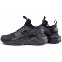 Air Huarache Run Ultra noire junior