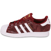 adidas superstar rouge bordeaux femme