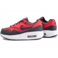 Air Max 1 rouge enfant