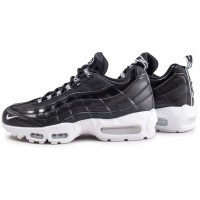 Nike Air Max 95 Premium Overbranded noire et blanche