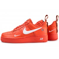 Nike Air Force 1 '07 LV8 Utility orange Chaussures Baskets