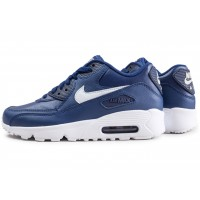 Air Max 90 Leather blue void junior