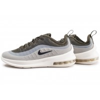 Air Max Axis grise et kaki junior