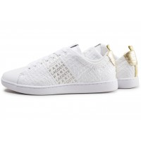 Carnaby Evo blanche et or