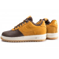 Nike Lunar Force 1 Duckboot Low marron Chaussures Baskets