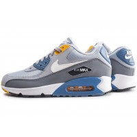 Air Max 90 Essential grise et bleue