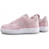 Air Force 1 '07 Essential rose et blanche femme