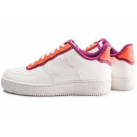 Air Force 1 07 LV8 blanc orange violet