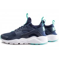 Air Huarache Run Ultra bleue junior