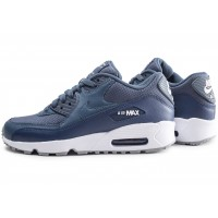Air Max 90 Mesh bleue junior