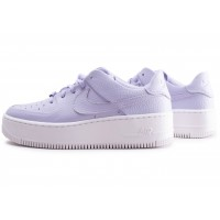 Air Force 1 Sage Low violette