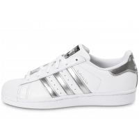 Superstar blanc argent