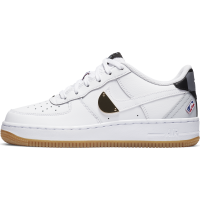 Air Force 1 LV8 1 Junior NBA blanche