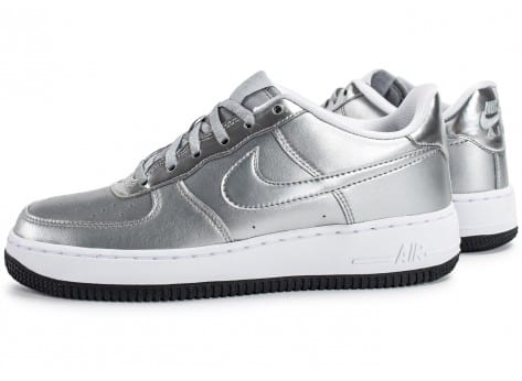 Nike Air Force 1 SE Silver Pack - Chaussures Baskets femme - Chausport