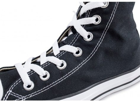 Chaussures Converse Chuck Taylor All Star noire vue dessus