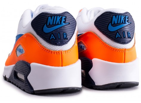 air max 90 essential bleu et orange