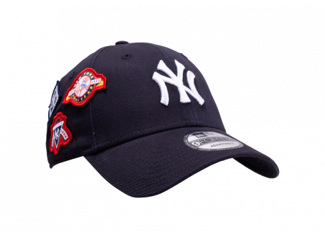 Casquettes New Era Casquette NY Cooperstown Patched 9Forty bleue marine