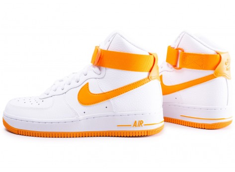 Nike Air Force 1 High blanc et orange femme 5 1 avis