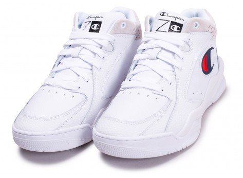 Chaussures Champion Zone Mid blanche vue intérieure
