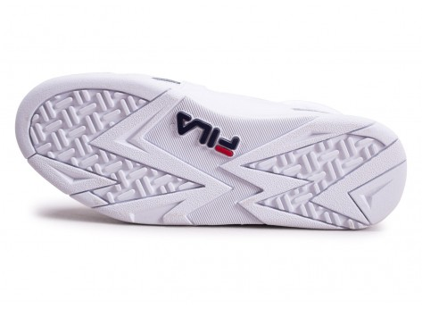 Chaussures Fila Cage blanche  vue avant