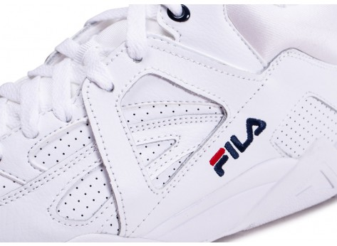 Chaussures Fila Cage blanche  vue dessus