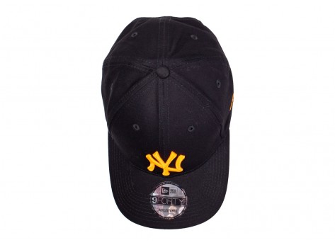 Casquettes New Era Casquette 9/40 League Essentials noire et orange