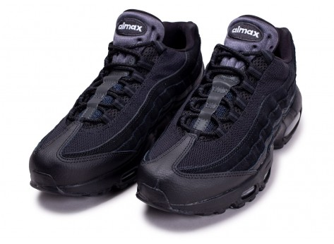 Chaussures Nike Air Max 95 Essential noir anthracite vue intérieure